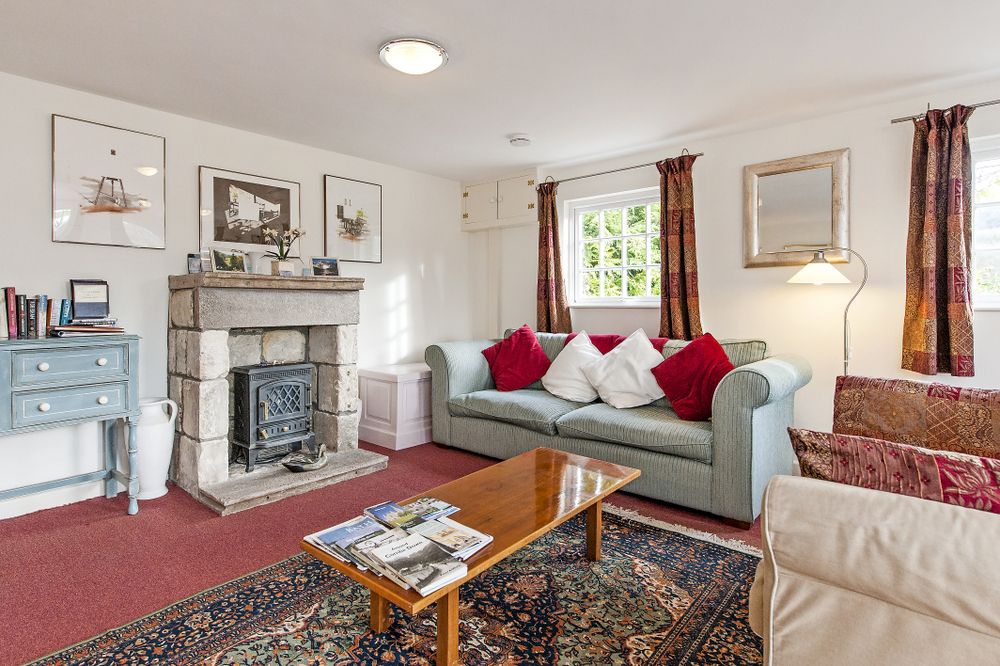 Tucking Mill View - Luxury self-catering cottage sitting area