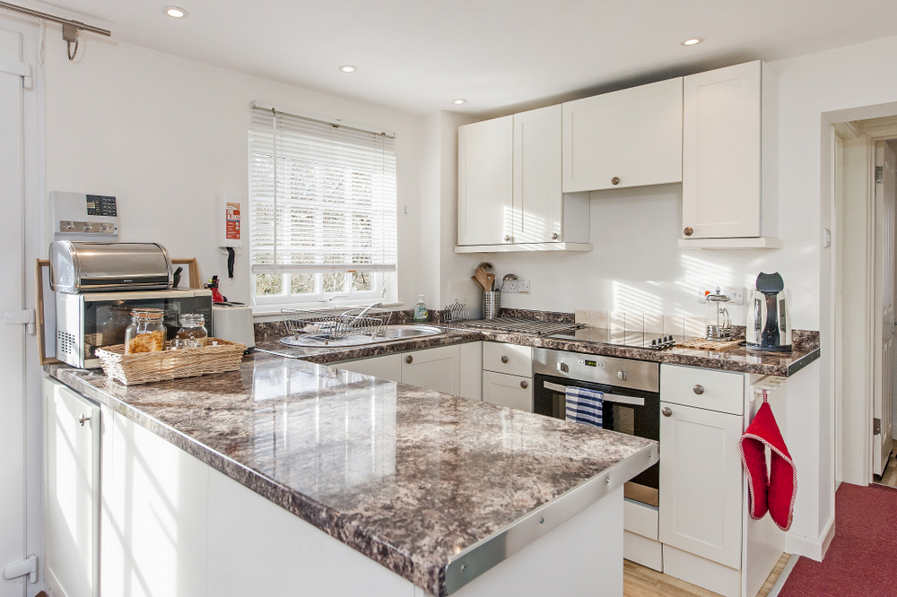 Tucking Mill View - Luxury self-catering cottage kitchen
