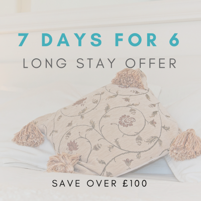 7 days for 6 long stay self-catering special offer in Bath