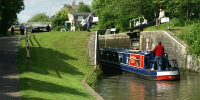 Kennet and Avon Canal is 87 miles long and stretches through the countryside marking a river worthy journey.