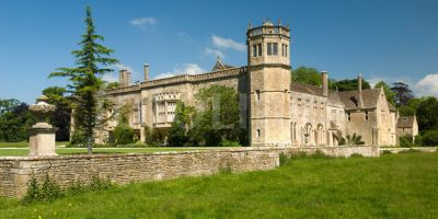 Visit Lacock Abbey near Bath and walk around the village featured in many BBC episodes