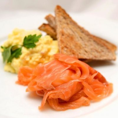 Enjoy a smoked salmon breakfast for your first morning at our self-catering apartments and luxury cottage retreats near Bath