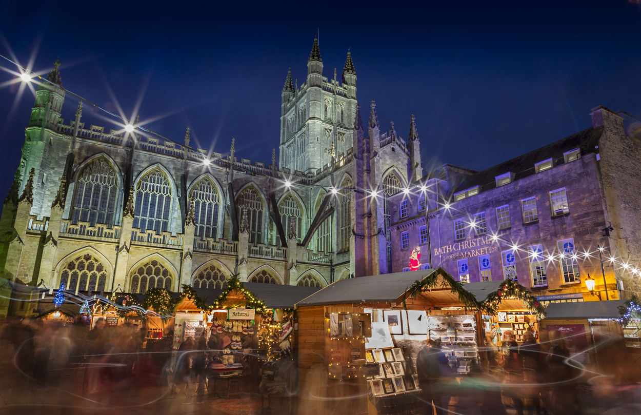 Stay with Tucking Mill Self-Catering for the Bath Christmas Market 2017