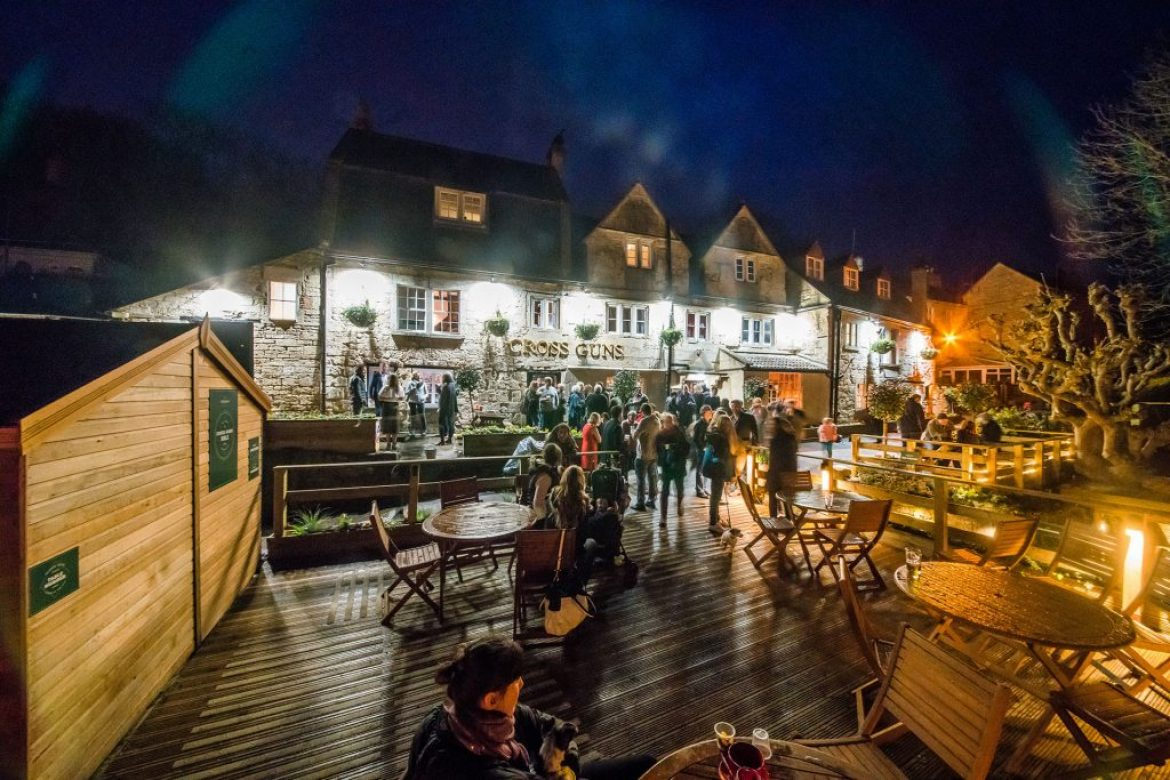Go Visit the Cross Guns in Avoncliff – Pubs by the River