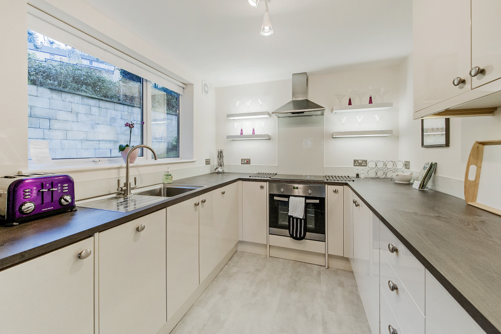 Hedgemead Court luxury self-catering apartment in Bath city centre - Kitchen