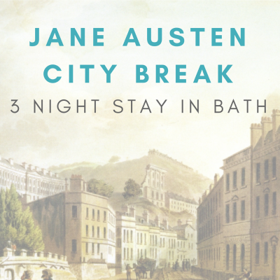 Jane Austen city break package three night special offer in Bath