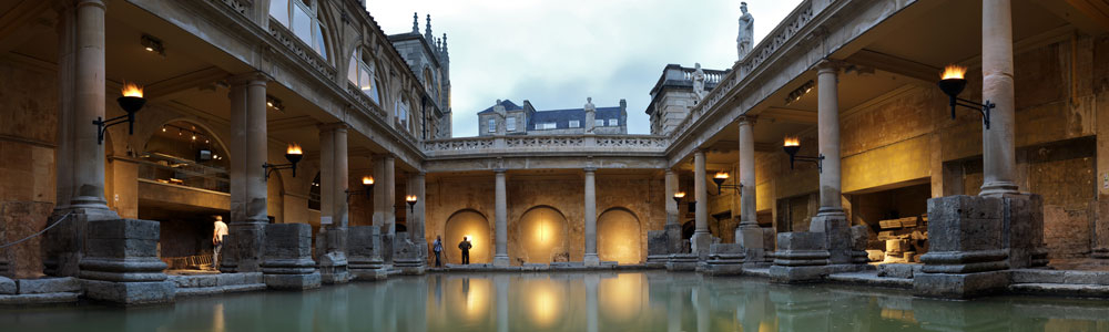 Local Attractions in Bath Roman Baths