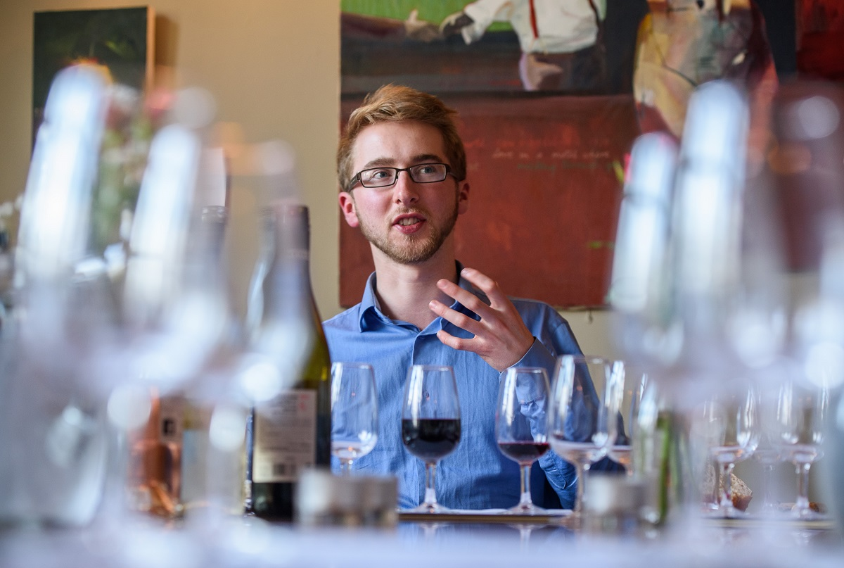 Ben Franks Wine tasting in Bath The Chequers for Christmas