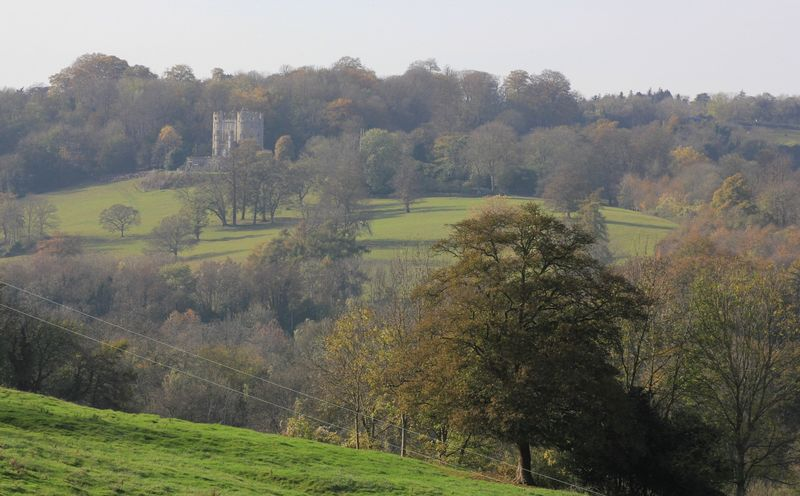 Midford Castle in the Midford Valley