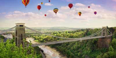 Visit Bristol, a short drive from Bath