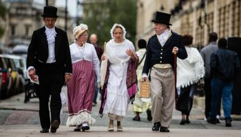 Visit Bath for the Jane Austen festivals