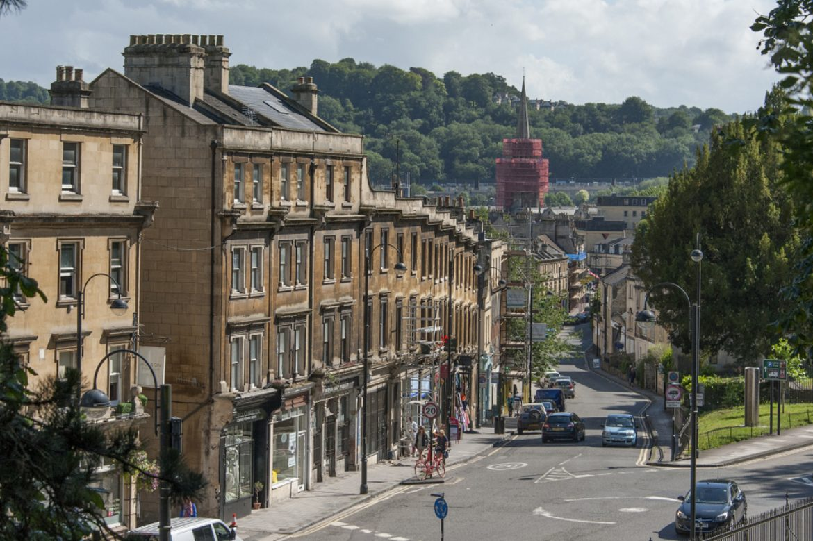Explore the delights of Bath's Artisan Quarter